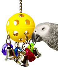 1937 Bellpull Bonka Bird Toy parrot cage toys cages african grey cockatiel