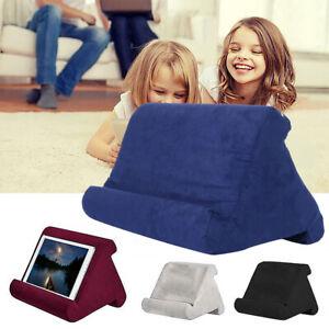 Support iPad coussin mousse lecture oreille comprimé multi-angle pr téléphone ME