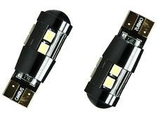 LETRONIX 2x 10 SMD 5630 LED W5W T10 Sockel Can-Bus Weiß 6000K kein Standlicht