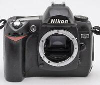 Nikon D70 D 70 D-70 DSLR Gehäuse Body Spiegelreflexkamera DSLR
