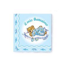 TOVAGLIOLI BATTESIMO BIMBO - addobbi tavola festa bambino 20 pz Azzurri