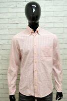 Camicia GANT Uomo Taglia Size XL Maglia Chemise Shirt Man Cotone Regular Quadri