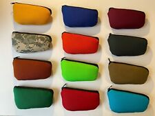 Messina Covers 1 Single Bass Clarinet Mouthpiece Case Pouch Bag COLORS