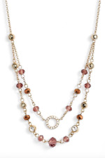 Judith Jack Multistrand Beaded Collar Necklace 5950