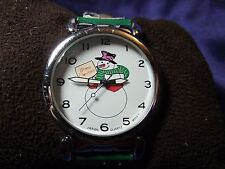 Woman's Oversized Snowman Watch  **Cute** B42-985