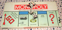 Monopoly Board Game 1985 Replacement Parts & Pieces Vintage Parker Brothers #9