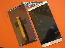 "GLS DISPLAY LCD +TOUCH SCREEN PER HUAWEI MATE 8 ASCEND ORO GOLD 6"" VETRO NXT-L29"