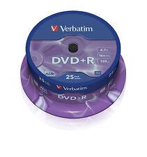 Verbatim DVD+R 16x 4.7GB 25-Pack Spindle