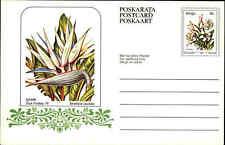 """Südafrika Karten-Ganzsache ungelaufen 1979 Pflanze Blumen 8 C Homeland """"VENDA"""""""