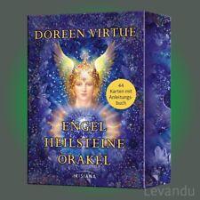 ENGEL-HEILSTEINE-ORAKEL | DOREEN VIRTUE | 44 Karten + Anleitungsbuch - NEU
