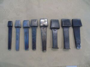 Antique Vintage Leather Working Tools 8 Gomph Oblong Punches