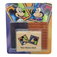 Mickey and Minnie Stamp-A-Name Disney Name Stamp New