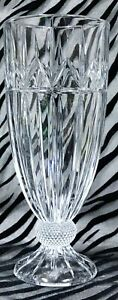 2 Godinger OLYMPIA Clear Cut Crystal Iced Tea Glasses 7 & 7/8 In. 2007-2019
