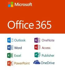 Microsoft Office 365 LIFETIME Account Subscription 5 Devices PC/Mac/Tablet 2016