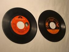 2 OLD JAMES BROWN 45 RECORDS LOWDOWN POPCORN/TOP OF STACK, GOOD FOOT