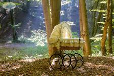 My Sweet Baby Ersatzbezug Bezug 4Tlg Ausstattung Bettwäsche f. Retro Stubenwagen