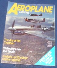 AEROPLANE MONTHLY MARCH 1984 - THE DAY OF THE TYPHOON