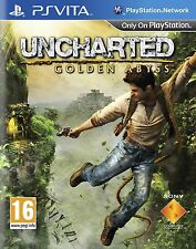 SONY PS Vita Uncharted Golden Abyss Game for Playstation Vita Console ~Brand New
