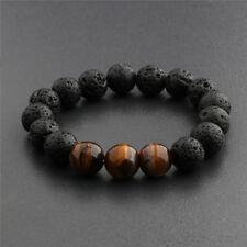 1Pc Essential Oils Diffuser Bead Bracelet Lava Rock Eye For Women Men_S