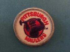 Rare Vintage 1983 USFL Pittsburg Maulers Football Jacket Backpack Hat Patch