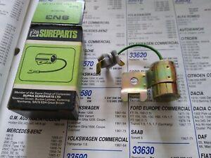 BOSCH CONDENSER - FITS: VOLVO 140 142 144 145 P1800 & BMW 2500 2800 & 3.0 / 3.3