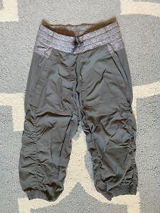 Ivivva Girls Grey Capri Jogger