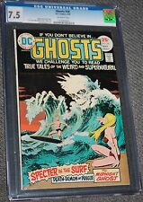 GHOSTS #38 May 1975 CGC 7.5 DC Bronze HORROR Age very fine Weird Supernatural