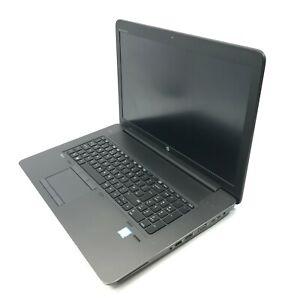 HP ZBook 17 G3 Laptop i7-6820HQ 2.7GHz 16GB DDR4 256GB SSD 1TB HDD Quadro M4000M