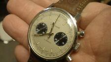 Hamilton Vantage Poor Mens Heuer Chronograph Watch Panda Dial excellent shape