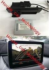 PAS+PDC with motorizing Backup camera for 2013 Mercedes Benz W166/X166 ML/GLE/GL