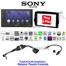FOR 2014-2020 HARLEY DAVIDSON 2 DIN TOUCH SCREEN RADIO KIT WITH SONY XAV-AX1000
