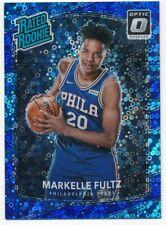 MARKELLE FULTZ 2017/18 DONRUSS OPTIC #200 RC FAST BREAK BLUE PRIZMS SP #15/50