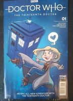 DOCTOR WHO :THIRTEENTH DOCTOR #1I Titan Comics Katie Cook Variant Cover