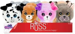"""RUSS LIL PEEPERS Plush Dog Series 8"""" (20cm) Assortment You Choose NEW"""