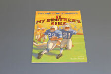 By My Brother's Side NFL Superstars Tiki & Ronde Barber, 2004, 1st Edition-Vin B