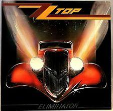 """ZZ TOP """"Eliminator""""  'RL' Vinyl LP - 1983 Warner Bros. 1-23774 - EX / VG+"""
