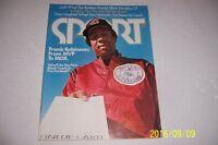 1975 Sport Magazine CLEVELAND INDIANS Frank ROBINSON No Label 1st BLACK MANAGER