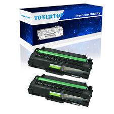 2pk MLT-D105L Black Toner Cartridge for Samsung SCX-4600 SCX-4623F SCX-4623FN