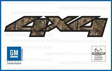 set of 2: 07 <-> 13 GMC Sierra 4x4 decals Realtree Xtra Camo GM HD stickers side