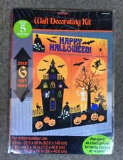 Amscan Halloween Kindergeburtstag Party Deko Wand Decorating Kit 5 Stück