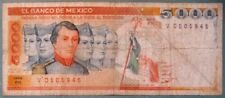 MEXICO 5 000 5000  PESO NOTE , P 87,  issued 19.07. 1985