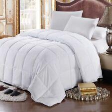 White Goose Feather-down Comforter 100% Cotton All Season Oversize