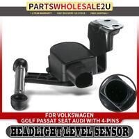 Headlight Level Sensor for VW Audi TT S3 A3 Golf Passat Jetta Tiguan 1T0907503