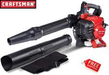 NEW Craftsman Leaf Blower Vac Gas Powered 2-Cycle Handheld Gasoline Vacuum Yard