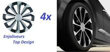 4x ENJOLIVEUR DE ROUE JANTE TOLE 15 pouce VW POLO (6R_)