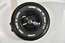 #Superbe objectif CANON FD 24MM 1:2,8 EXCELLENT - fixe 24 mm - prime