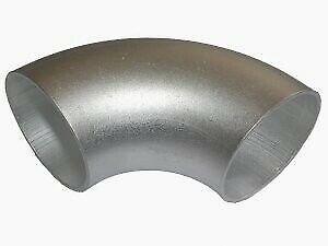 90° Aluminium elbow - Aluminium elbow short 25mm