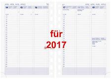 Brunnen Business Timeplaner Kalendarium 2017 1Wo=2S. A5 Kalender 2017 in Spalten