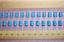 QTY (48) 100uf 35V RADIAL ALUMINUM ELECTROLYTIC  35TWSS101M8X11.5 RUBYCON