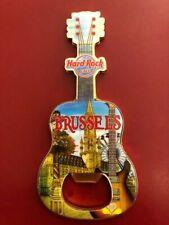 Hard Rock Cafe Brussels Guitar Bottle Opener V16 MAGNET